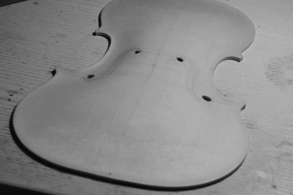 Violon Nicolo Amati (Cremona c.1650) OC Montpellier 2016 / Fabrication